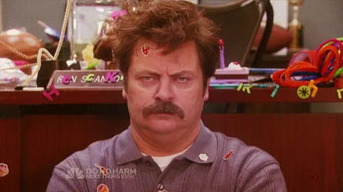 Watch this annoyed GIF on Gfycat. Discover more annoyed, annoying, nick offerman GIFs on Gfycat