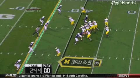 Watch and share Devin Gardner Sacked , Fumbles GIF GIFs on Gfycat