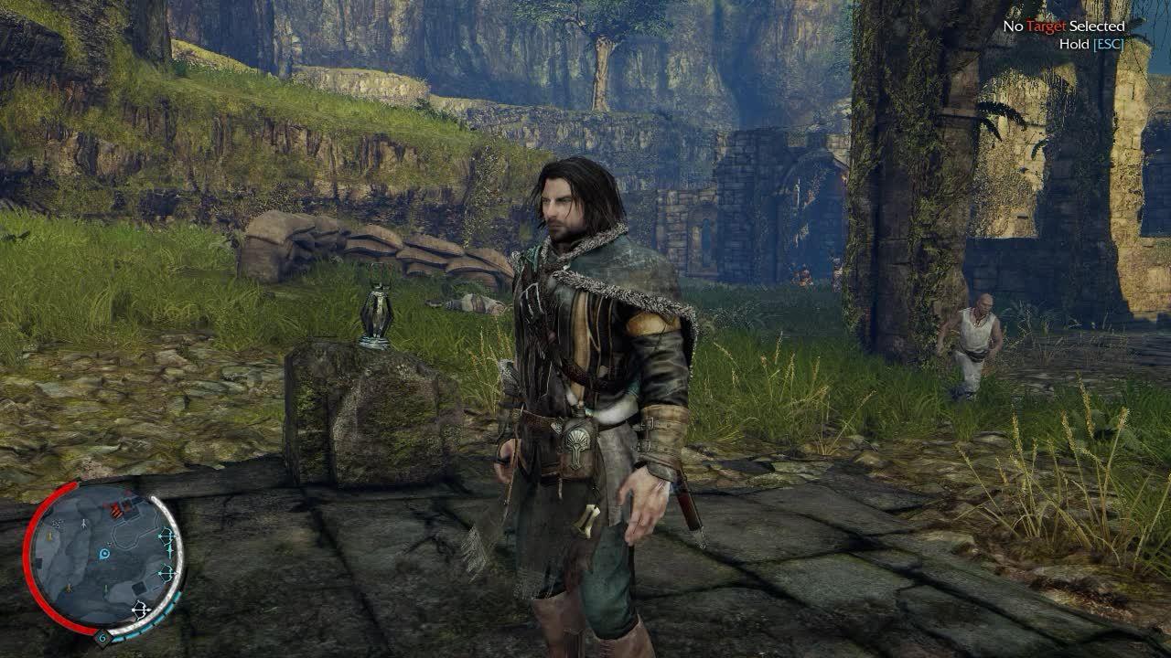 60fpsGamingGifs, 60fpsgaminggifs, Bit of combat, testing 720p how does it look? [Shadow of Mordor] (reddit) GIFs