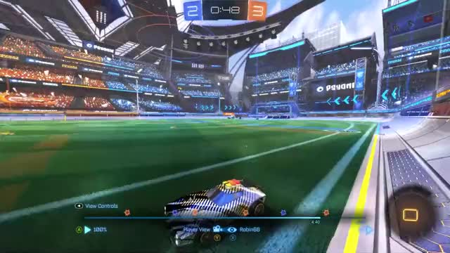 Watch Freestyle...again GIF by @js.robin66 on Gfycat. Discover more 20xx, Aerial, Dominus, Freestyle, Funny, Gaming, Goal, Rocket League, rocketleague GIFs on Gfycat