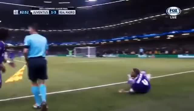 Watch and share Ramos Does Too Much, Cuadrado Get Sent Off. GIFs on Gfycat