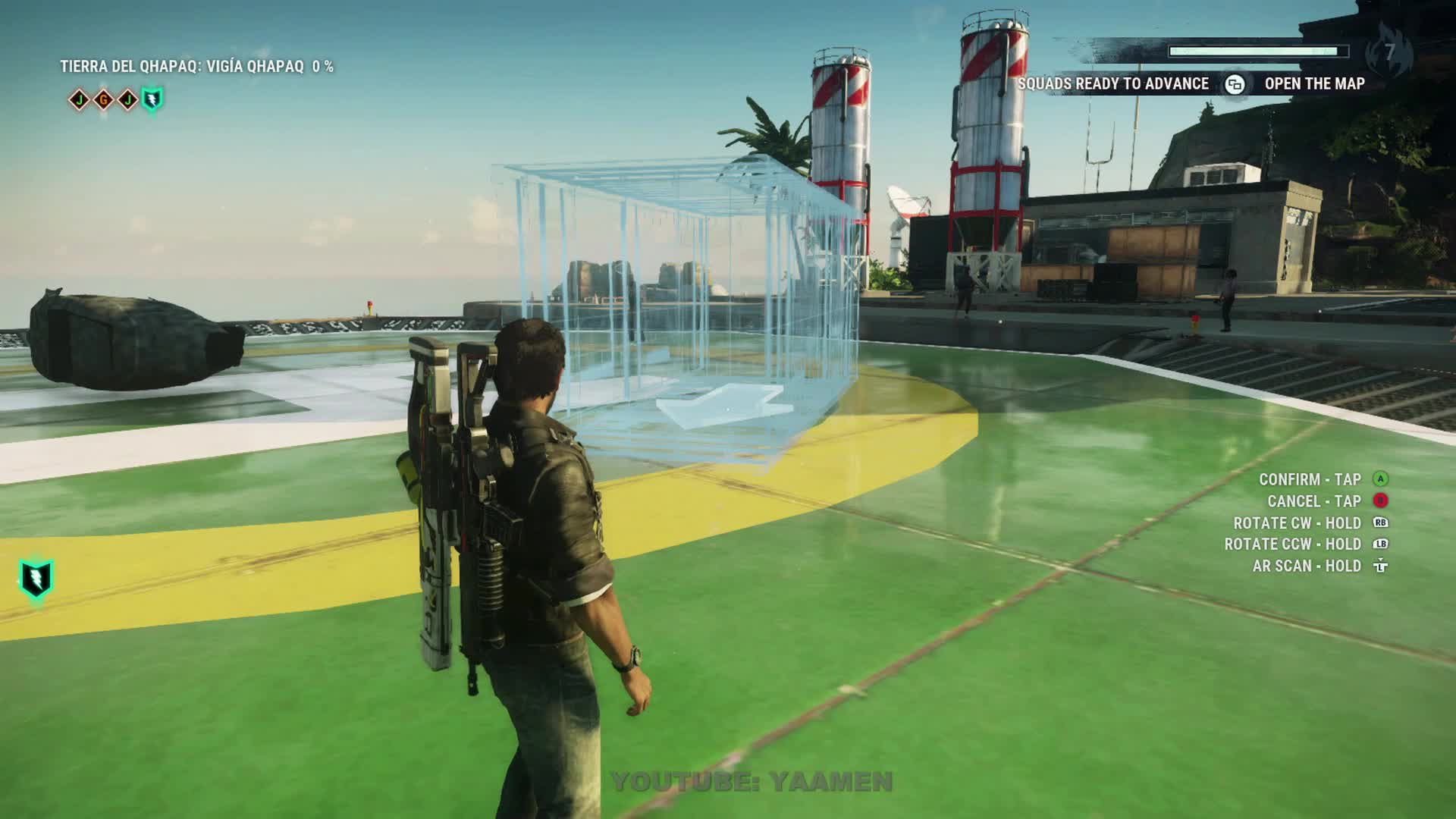 air drop, avalanche, bug, glitch, just cause 4, plane, square enix, JUST CAUSE 4 - GO FOR A SPIN GIFs
