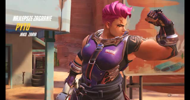 Watch and share Overwatch GIFs and Zarya GIFs by pytolina on Gfycat