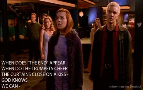 Watch and share I Love This Episode GIFs and Buffy Cast GIFs on Gfycat