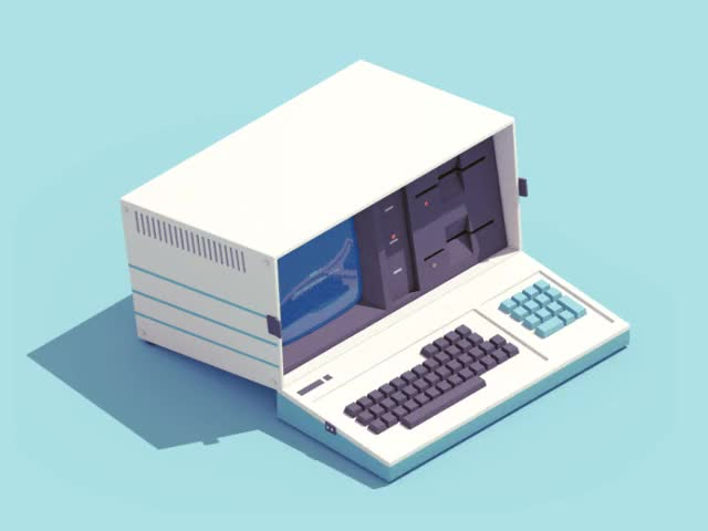 Watch 12 animated illustrations of retro technology | DesignFaves GIF on Gfycat. Discover more related GIFs on Gfycat
