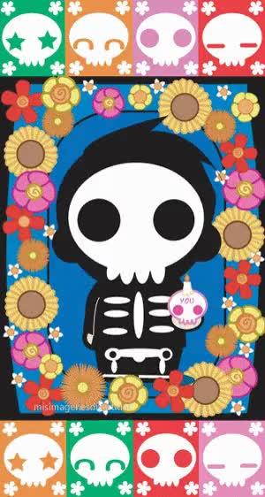 Watch and share Dia De Lis Muertos GIFs on Gfycat