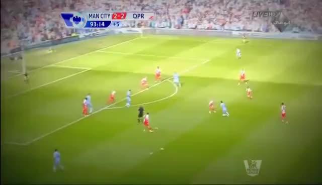 Watch and share Sergio Aguero's Goal Vs QPR (13--05--2012) [HD]. GIFs on Gfycat