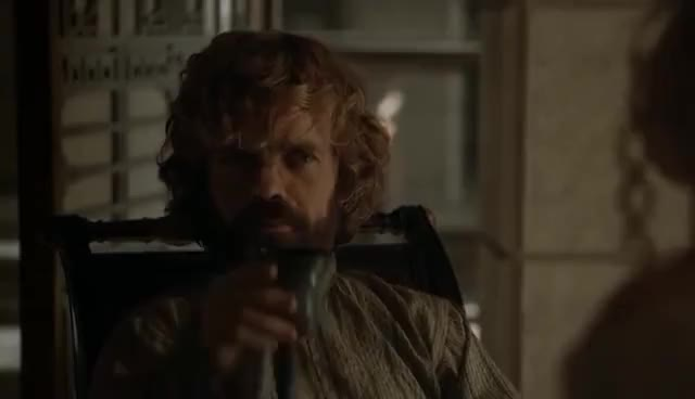 Watch and share Game Of Thrones 5x08 - Daenerys Speaks With Tyrion GIFs on Gfycat