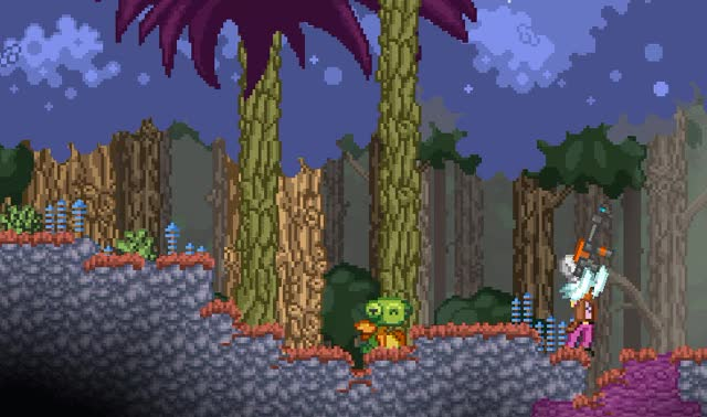 Watch The Bubble Bobbler! GIF by @supermandrew on Gfycat. Discover more starbound GIFs on Gfycat