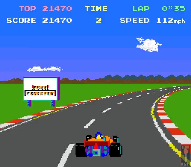 Watch and share Pole Position (1982) GIFs by Fedor Sivov on Gfycat
