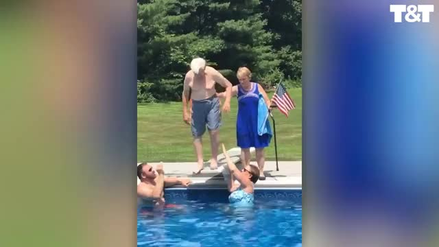 Watch Old man dive GIF on Gfycat. Discover more UGC, license GIFs on Gfycat