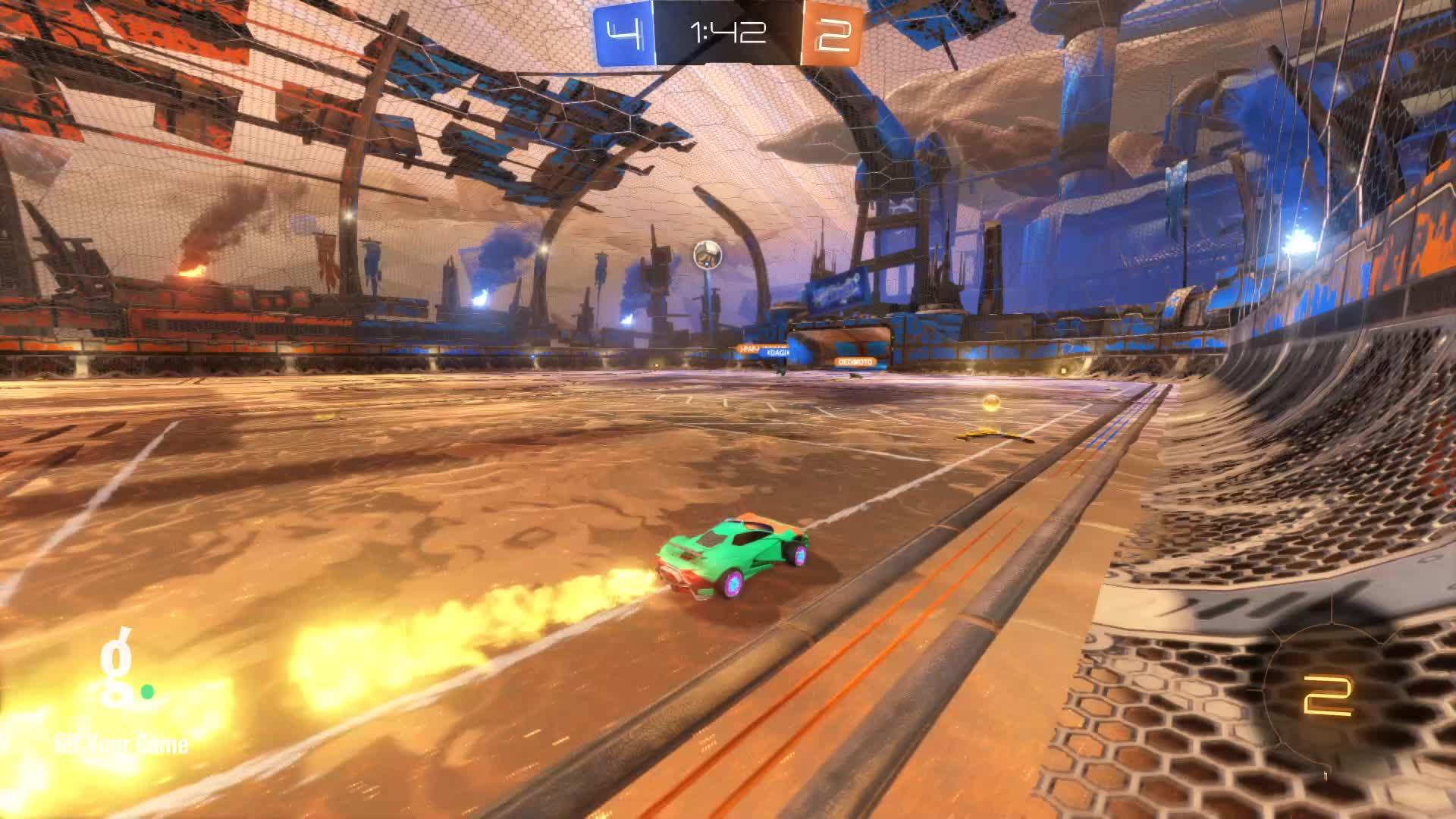Gif Your Game, GifYourGame, Goal, Rocket League, RocketLeague, snus, Goal 7: snus GIFs
