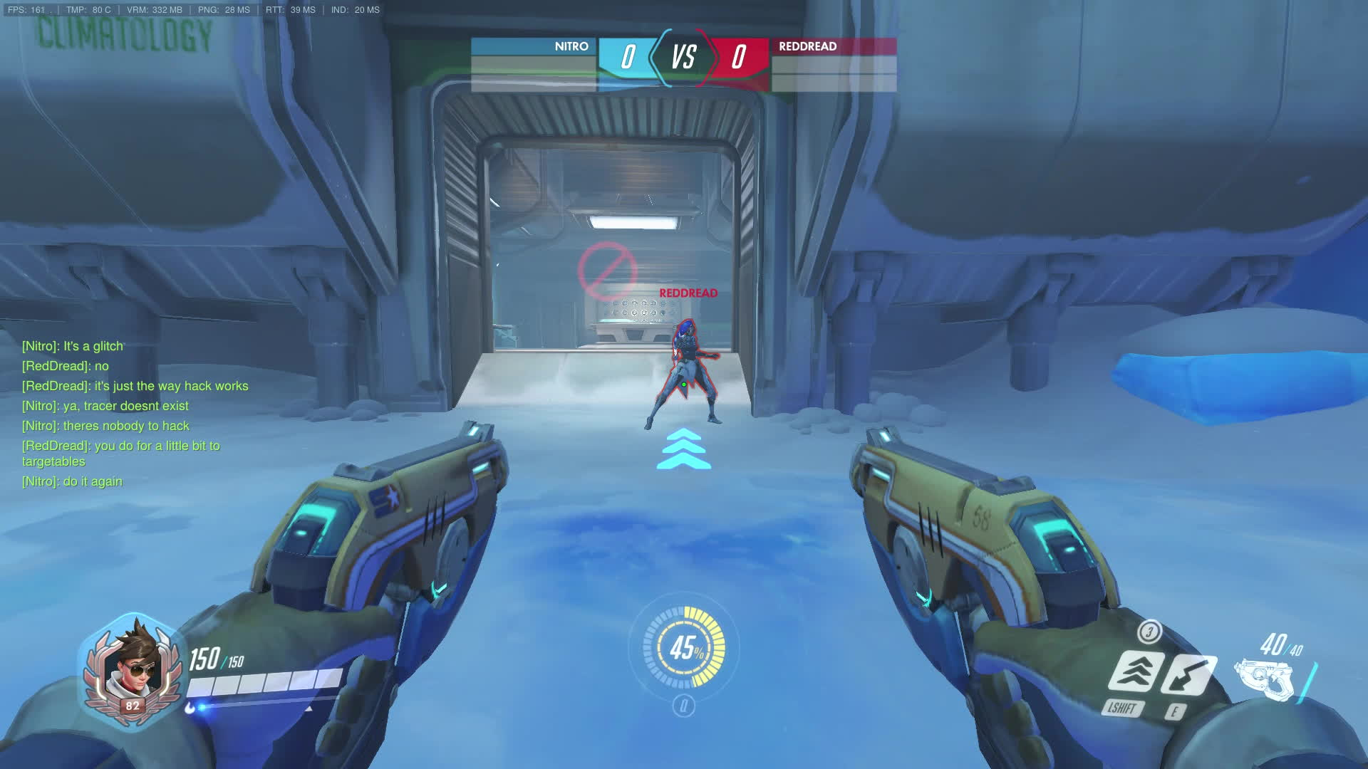 Competitiveoverwatch, Tracer/Sombra glitch - Still hacking during recall GIFs