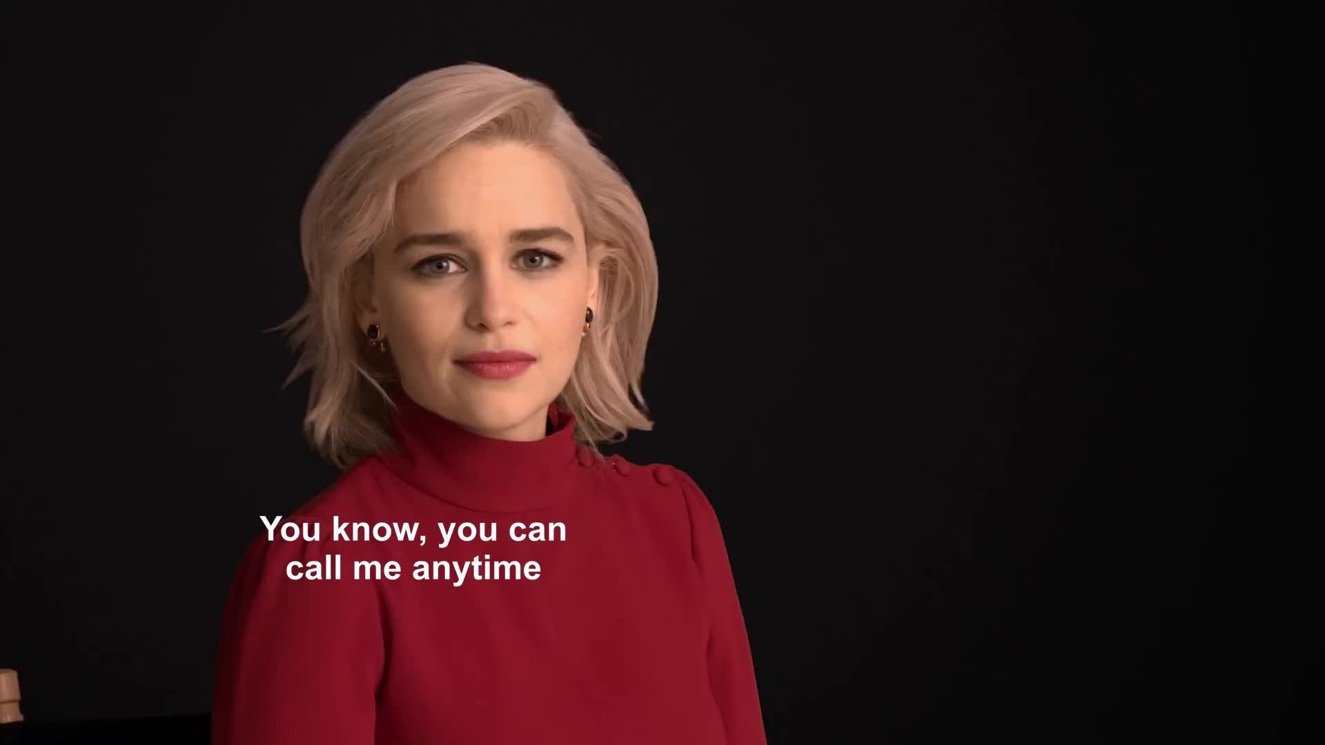 celebs, emilia clarke, qi'ra, Emilia Clarke GIFs