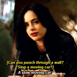 Watch this jessica jones GIF on Gfycat. Discover more jessica jones, krysten ritter GIFs on Gfycat