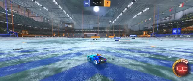 Watch and share Rocket League Hockey Season 10 GIFs by grumpus_dad on Gfycat