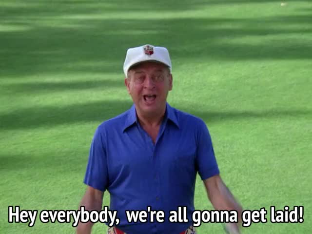 Watch and share Rodney Dangerfield GIFs and Caddyshack GIFs by MikeyMo on Gfycat