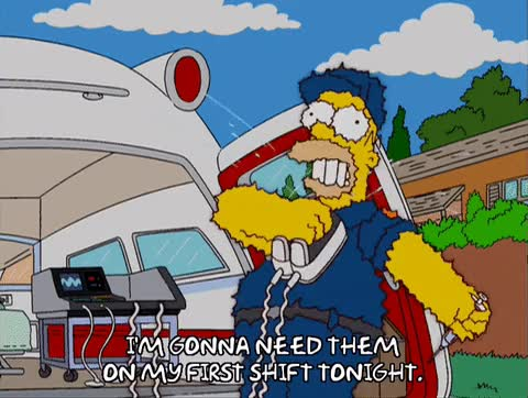 Watch and share The Simpsons GIFs and Ambulance GIFs on Gfycat