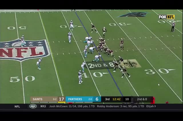 Watch and share Kamara Miscue GIFs by spizzie on Gfycat