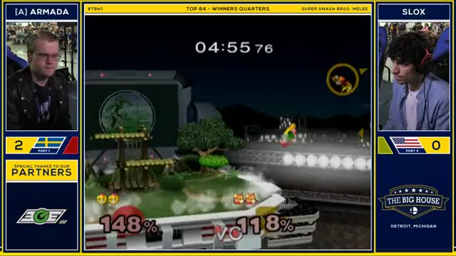VGBootCamp Playing Super Smash Bros. Melee - Twitch Clips