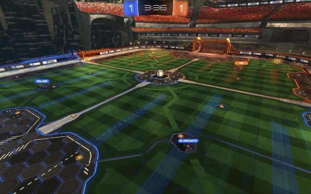 Watch and share Rocket League GIFs by silveroak767 on Gfycat