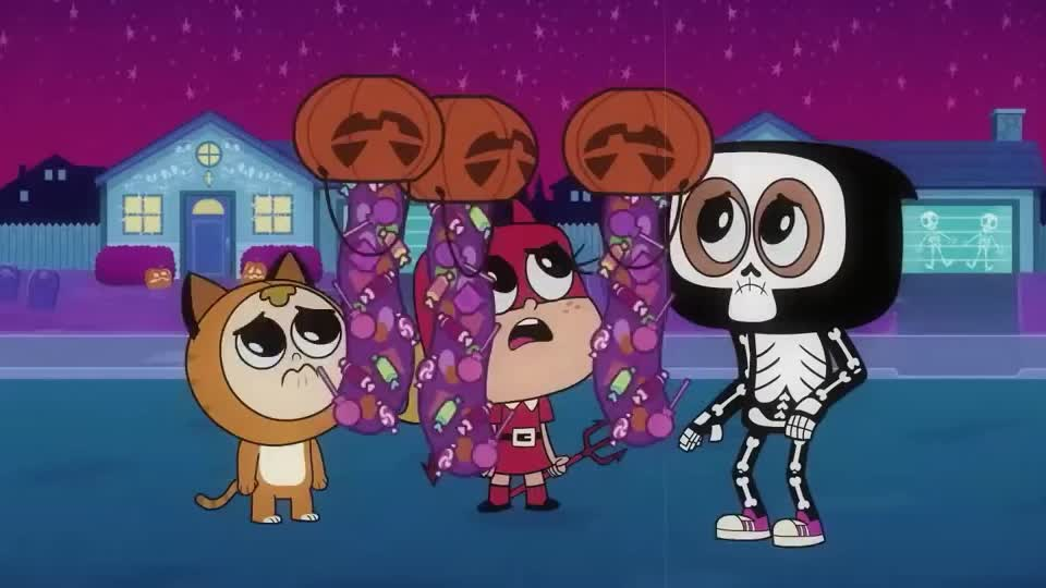 aww, candy, cartoon, disappointed, drop, go, halloween, invisible, man, more, network, no, prank, rap, sad, scary, teen, titans, wtf, Teen Titans GO! | Scary Rap | Cartoon Network GIFs