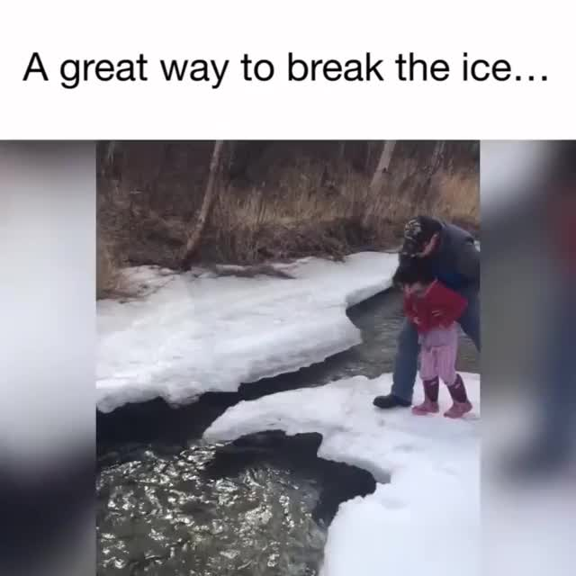 Watch Wcgw if I use my daughter to break the ice GIF on Gfycat. Discover more related GIFs on Gfycat