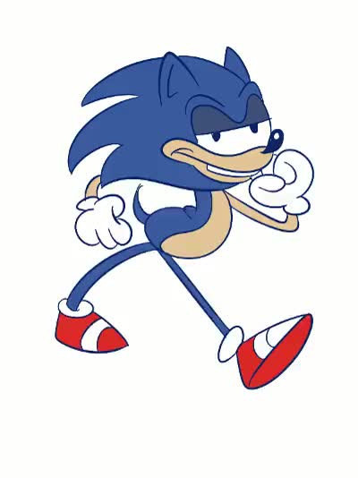 Watch Sonic GIF on Gfycat. Discover more related GIFs on Gfycat