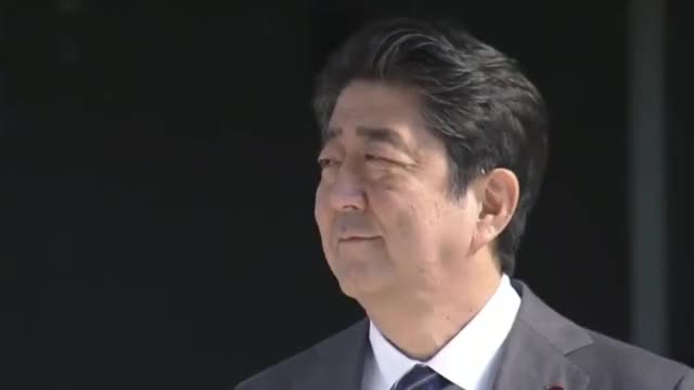 Watch and share Trump Abe Meeting GIFs and President Trump GIFs on Gfycat