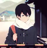 Watch and share Swimming Anime GIFs and Nanase Haruka GIFs on Gfycat