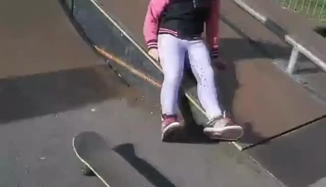 Gabi falling