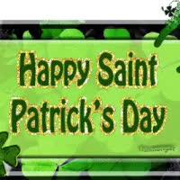 Watch and share Happy Saint Patricks Day animated stickers on Gfycat