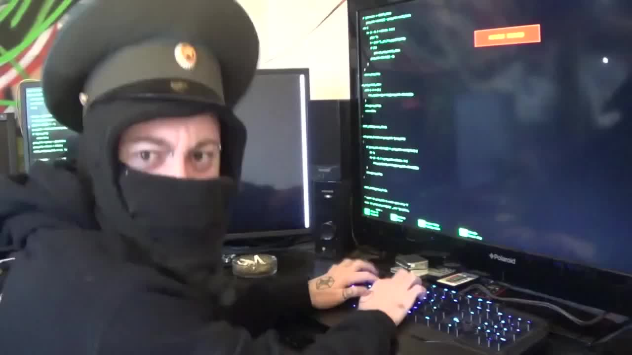 nmegabyte, This is how I imagine Russian hackers. GIFs