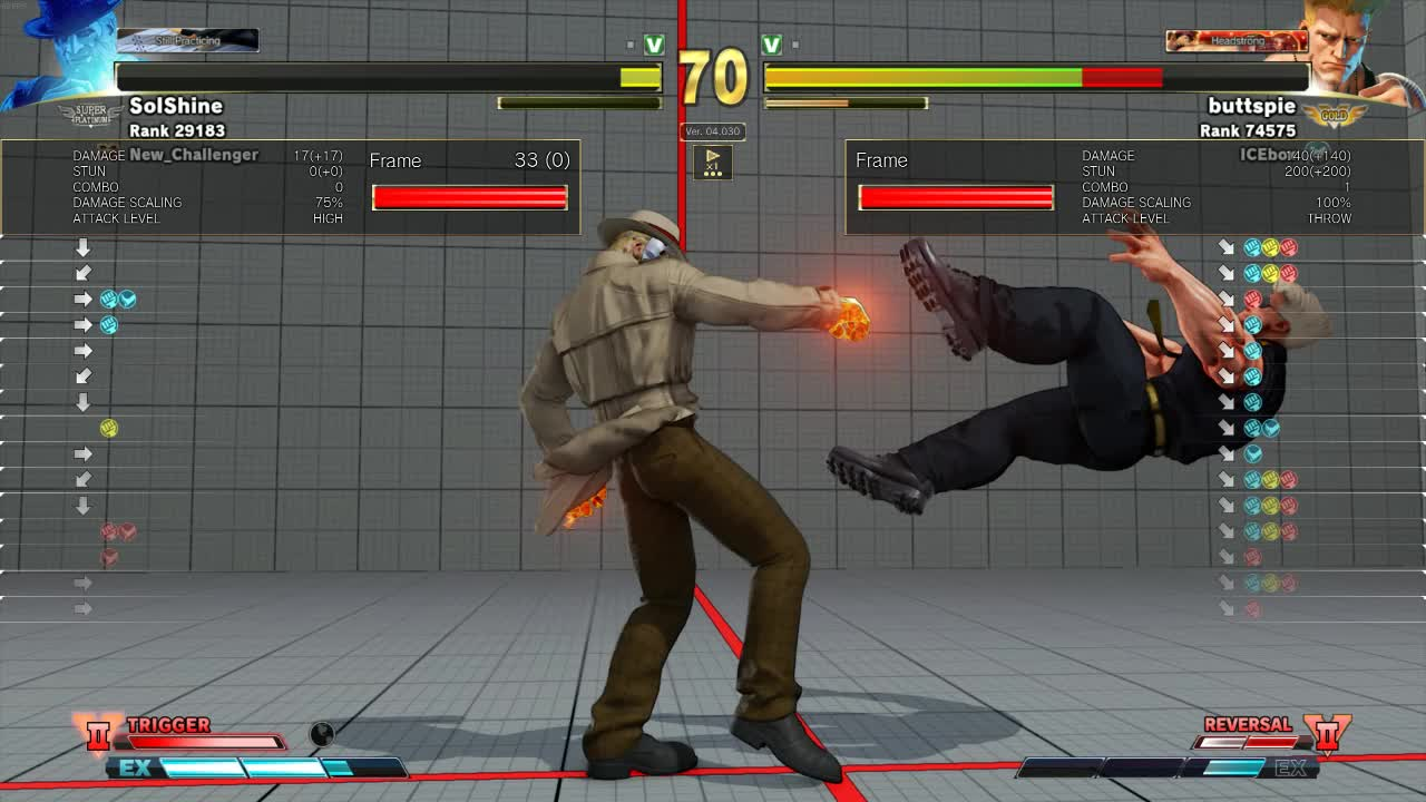 StreetFighter, How 2 Check Dashes GIFs