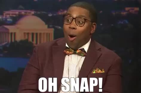 Watch and share Kenan Thompson GIFs and Oh Snap GIFs by Reactions on Gfycat
