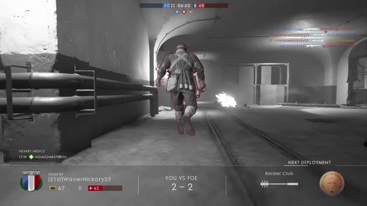 Battlefield One-FunnyTrenchRaiderDeathScene GIFs