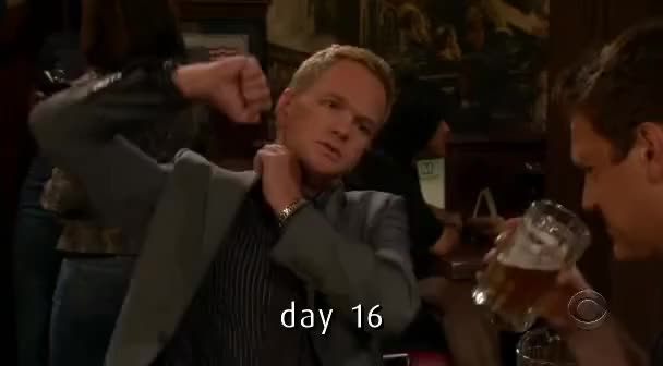 Watch and share Barney Stinson GIFs and Hanging GIFs on Gfycat