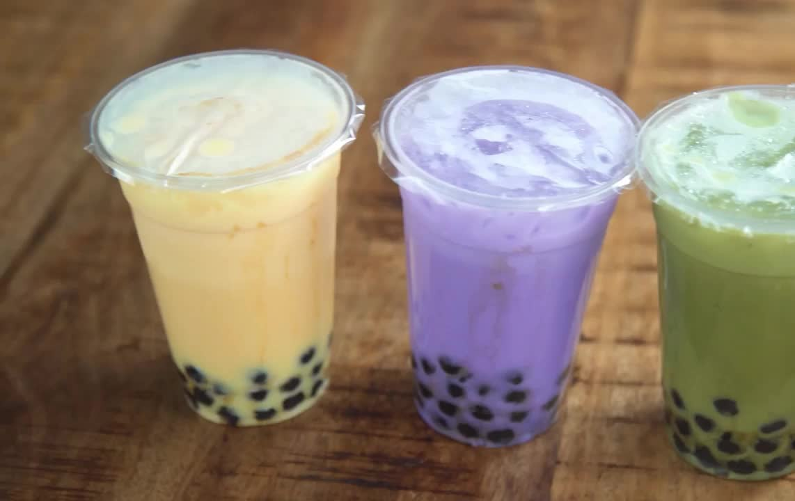 boba, bubble, healthy, milk, mind, munch, over, pearl, tea, Boba / Bubble Tea! Healthy Recipes - Mind Over Munch GIFs