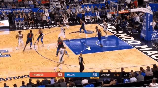 Watch and share Q2 - Jerami Grant Good Play - Block GIFs by cauchyco on Gfycat