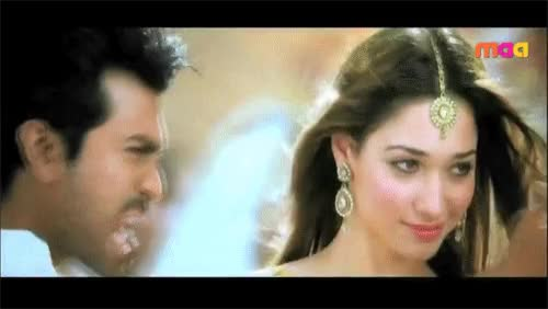 Watch Ram Charan Teja and Tamannaah in Racha GIF on Gfycat. Discover more related GIFs on Gfycat