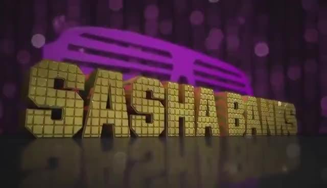 Sasha Banks Entrance Video GIFs