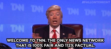 Watch and share Jimmy Fallon GIFs and Fake News GIFs on Gfycat