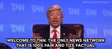 fake news, jimmy fallon, Fake news GIFs