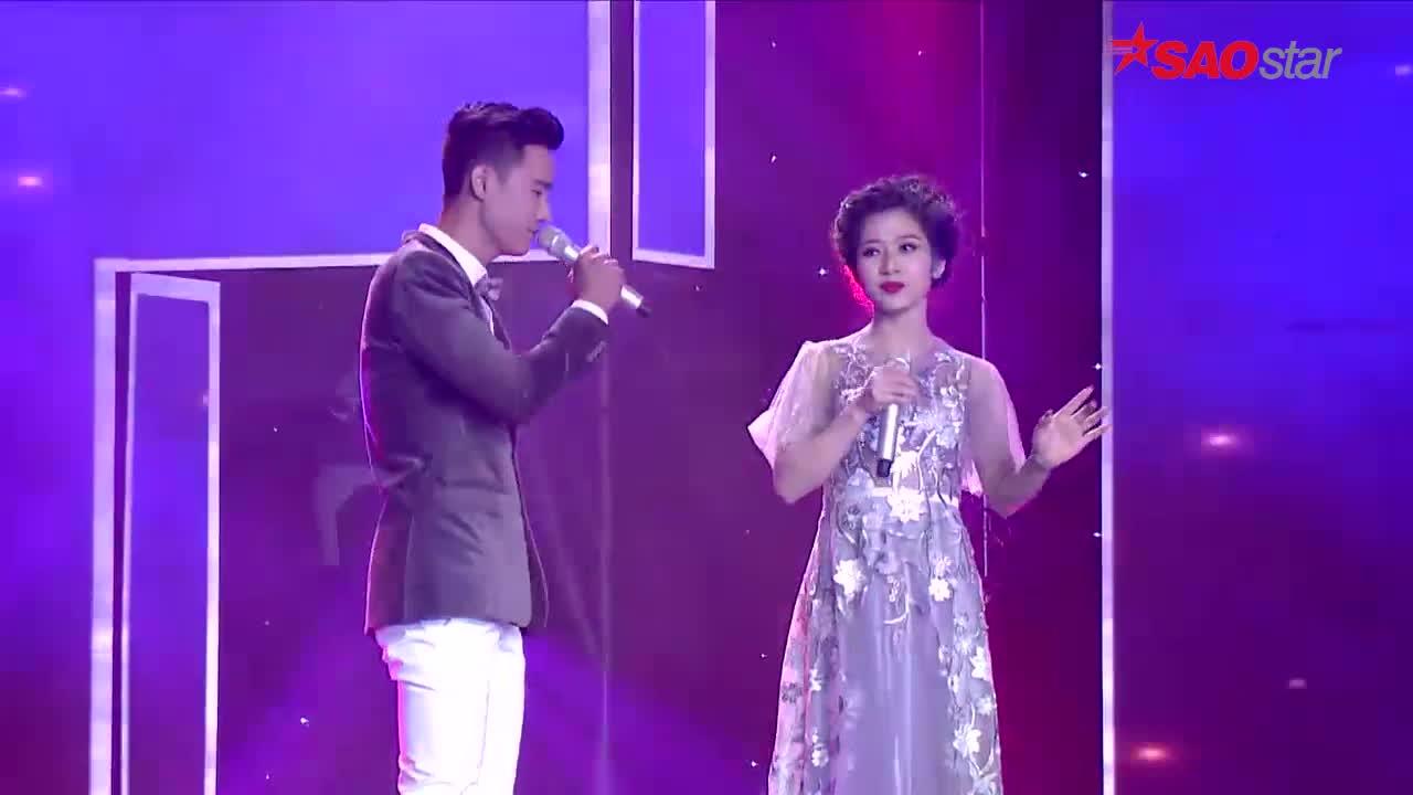 Cặp đôi tiên đồng  ngọc nữ đội HLV Đàm Vĩnh Hưng ngọt ngào trong bản mashup lãng mạn