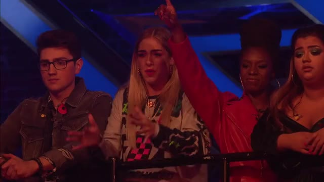 Watch and share Molly Scott Sings Human Live Shows Week 3   The X Factor UK 2018 GIFs on Gfycat