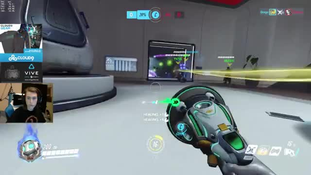 C9 Grego as Lucio reach 36 Elims on Lijiang Tower / Overwatch Competitive Play (Ranked Gameplay)