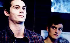 Watch and share Stiles Stilinski GIFs and Daniel Sharman GIFs on Gfycat