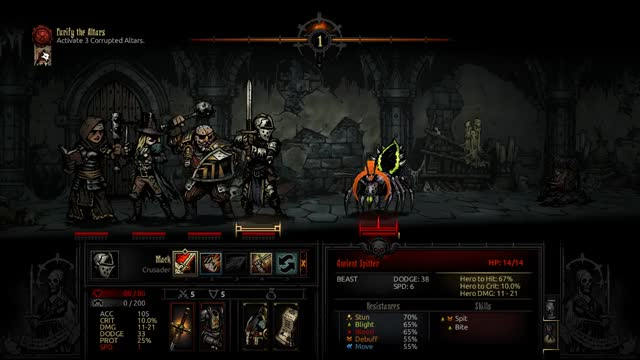 Watch and share Darkest Dungeon GIFs and Crusader GIFs by Macplustrees on Gfycat