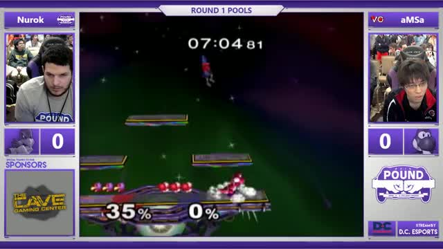 Watch *Pound* 2016 - Melee Pools - Nurok (Falco) vs. VGBC | aMSa (Yoshi) GIF on Gfycat. Discover more related GIFs on Gfycat