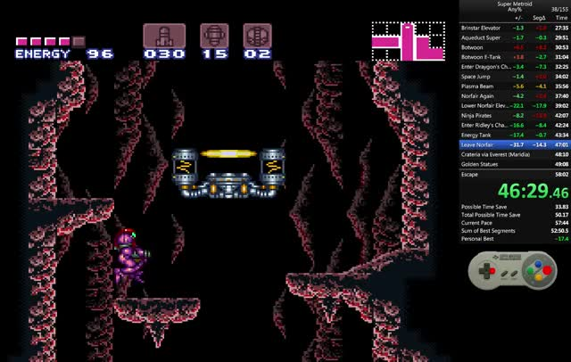 Watch and share Super Metroid GIFs and Speedrun GIFs by unhchabo on Gfycat